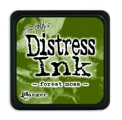 Ranger Distress Mini Ink Pad - forest moss
