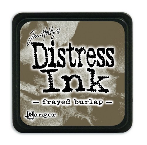 Ranger Distress Mini Ink Pad - frayed burlap