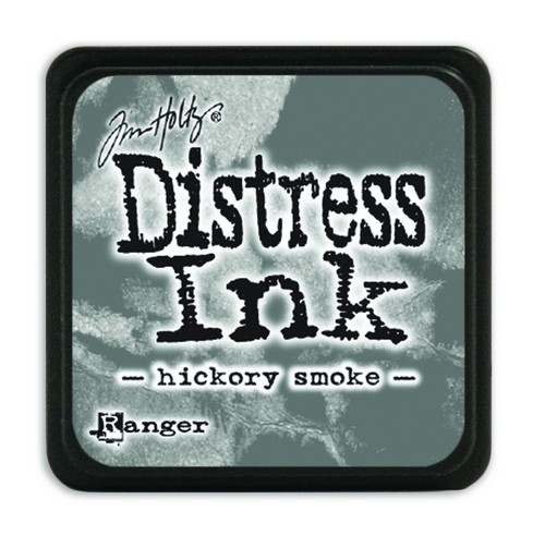 Ranger Distress Mini Ink Pad - hickory smoke