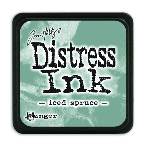 Ranger Distress Mini Ink Pad - iced spruce