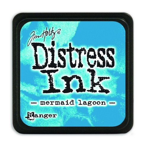 Ranger Distress Mini Ink Pad - mermaid lagoon