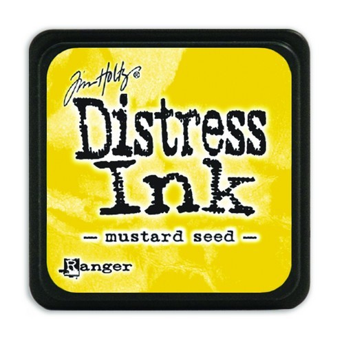 Ranger Distress Mini Ink Pad - mustard seed