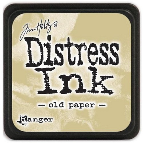Ranger Distress Mini Ink Pad - old paper