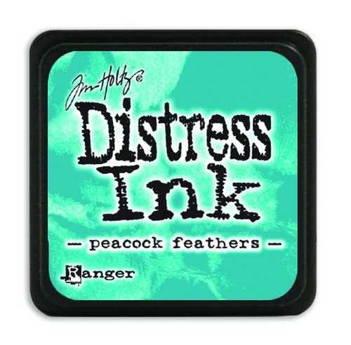 Ranger Distress Mini Ink Pad - peacock feathers