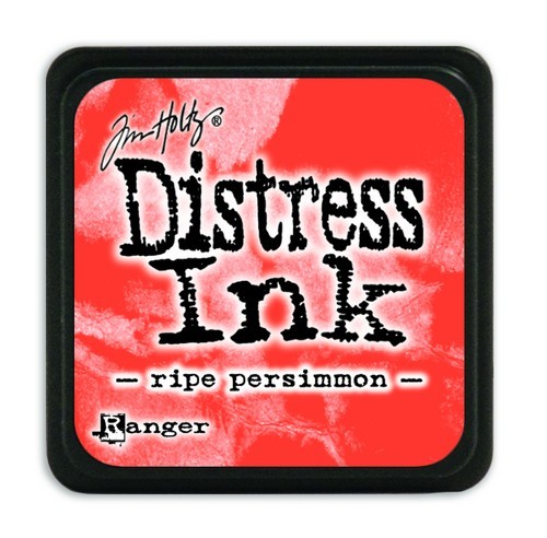 Ranger Distress Mini Ink Pad - ripe persimmon