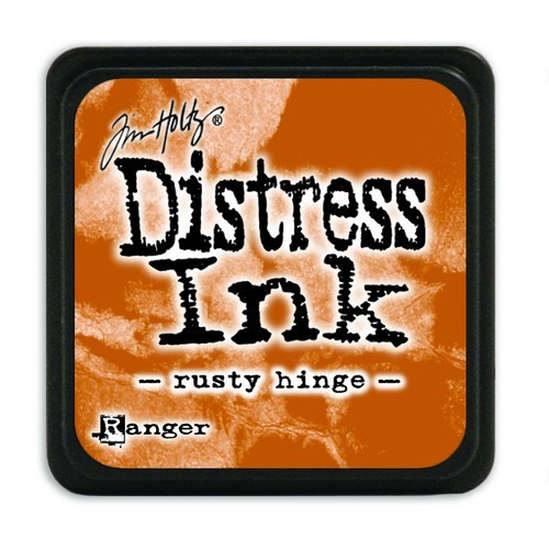 Ranger Distress Mini Ink Pad - rusty hinge