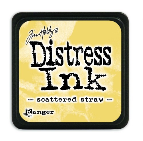 Ranger Distress Mini Ink Pad - scattered straw