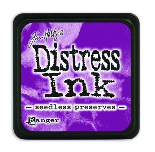 Ranger Distress Mini Ink Pad - seedless preserves