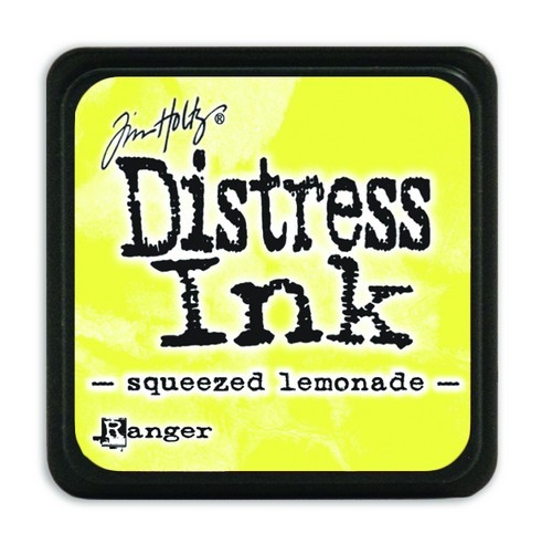 Ranger Distress Mini Ink Pad - squeezed lemonade