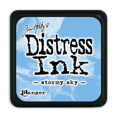 Ranger Distress Mini Ink Pad - stormy sky