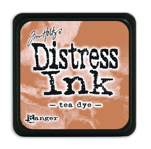 Ranger Distress Mini Ink Pad - tea dye