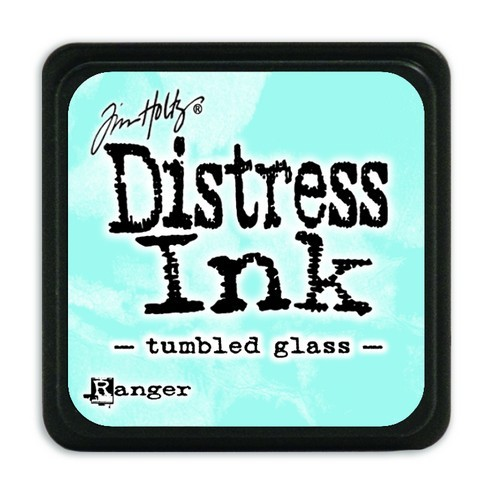 Ranger Distress Mini Ink Pad - tumbled glass