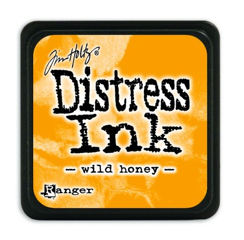 Ranger Distress Mini Ink Pad - wild honey