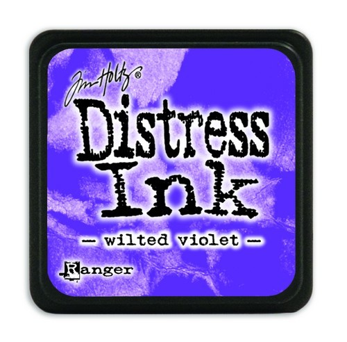 Ranger Distress Mini Ink Pad - wilted violet