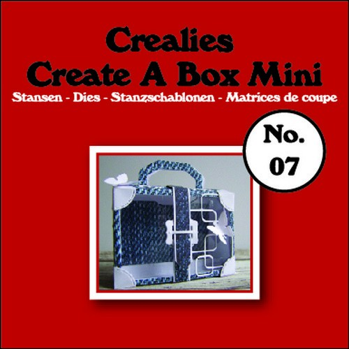 Crealies Stans - Create a Box Mini - koffer