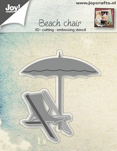 Joy Stencil - beach chair
