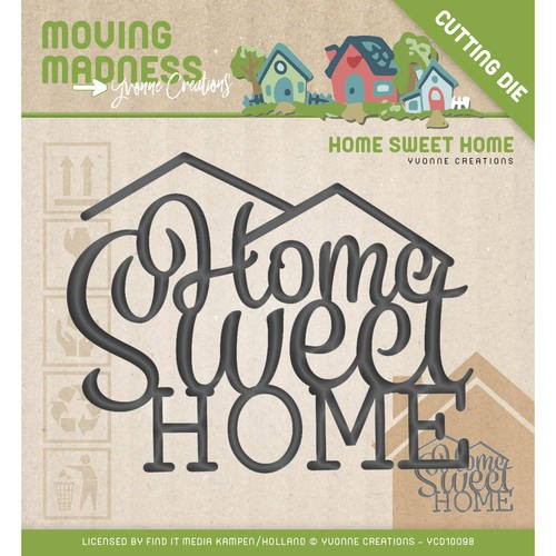Yvonne Creations Stans - Moving Madness - home sweet home