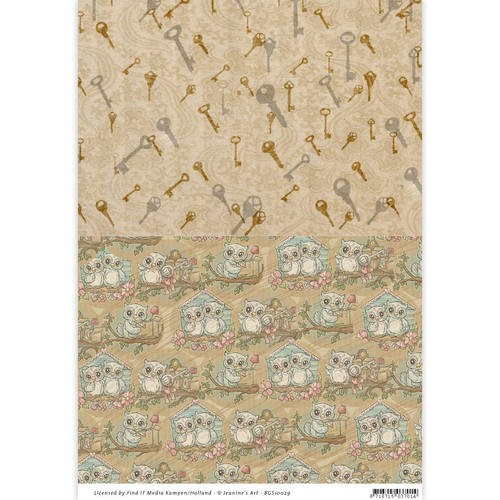 Background Sheet Yvonne Creations - Moving Madness BGS10029
