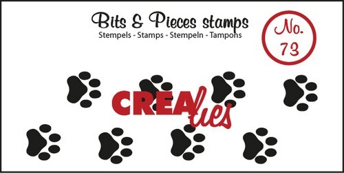 Crealies Clearstamp - Bits & Pieces 73