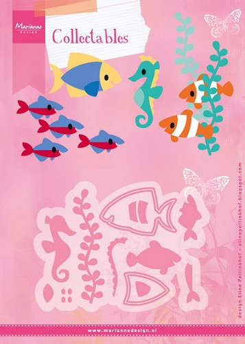 Collectables Marianne Design - Eline`s Tropical Fish