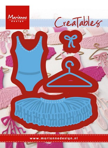 Creatables Marianne Design - Ballet Dress