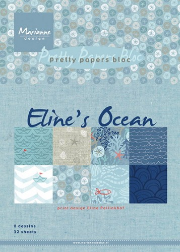 Pretty Papers Bloc - Eline`s Ocean