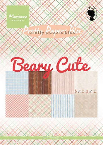 Pretty Papers Bloc - Beary Cute