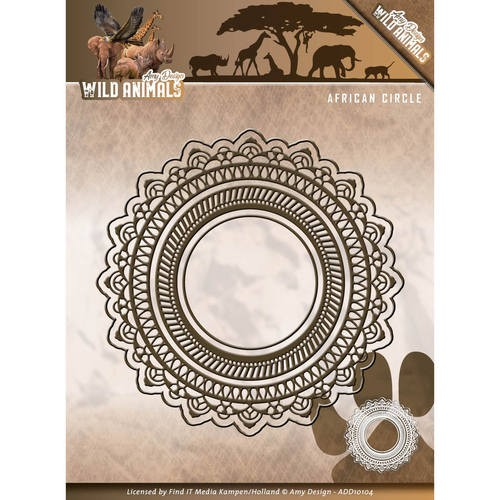 Amy Design Stans - Wild Animals - African Circle