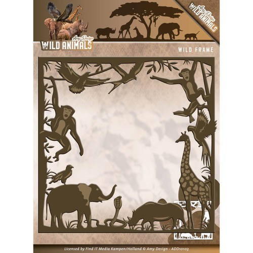 Amy Design Stans - Wild Animals - Wild Frame
