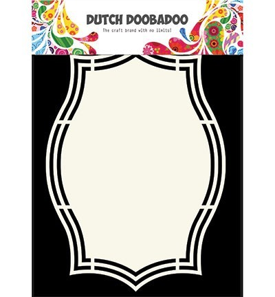 Dutch Doobadoo Shape Art - label 5