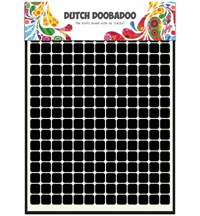 Dutch Doobadoo Mask Art - patch