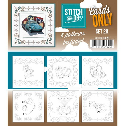 Stitch and Do Cards Only - set 28