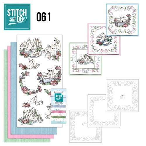 Stitch and Do Pakket 61 - swans