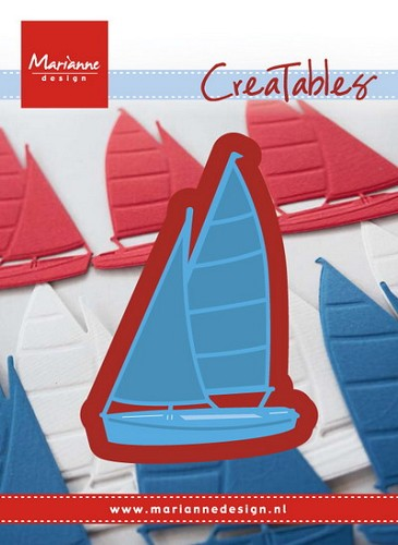 Creatables Marianne Design - zeilboot