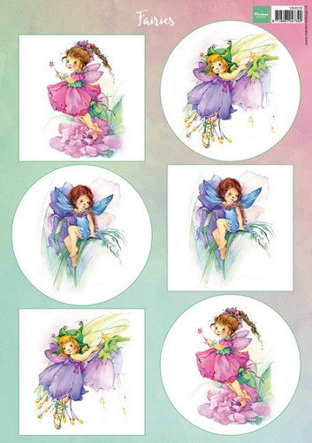 Knipvel Marianne Design - Fairies 1