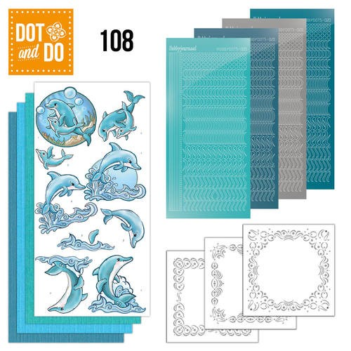 Dot & Do Hobbydots Pakket -  dolphins