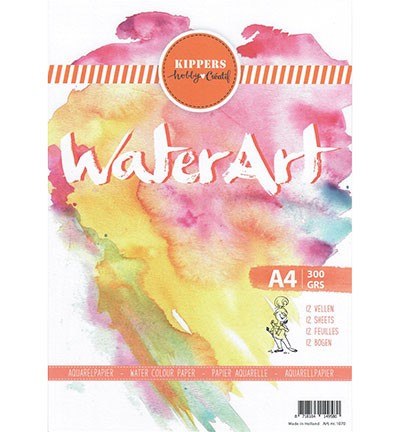 WaterArt Aquarelpapier - A4 formaat - 300 grams
