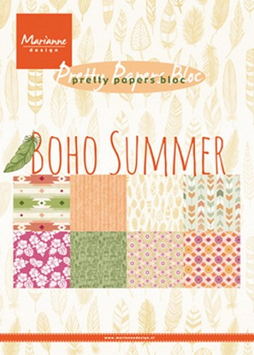 Pretty Papers Bloc - Boho Summer