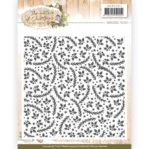 Embossing Folder Precious Marieke - The Nature of Christmas
