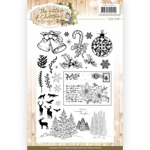 Clearstamps Precious Marieke - The Nature of Christmas