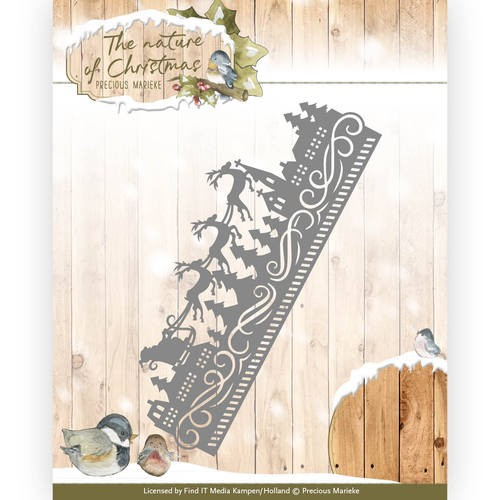Stans Precious Marieke - The Nature of Christmas - christmas border