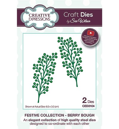 Creative Expressions Stans - Festive Collection - Berry Bough