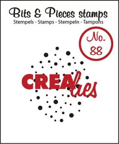 Crealies Clearstamp - Bits & Pieces 88