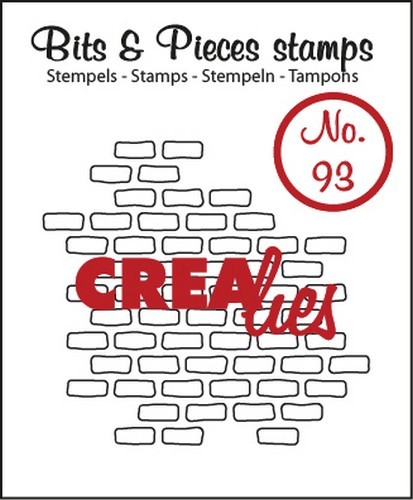 Crealies Clearstamp - Bits & Pieces 93