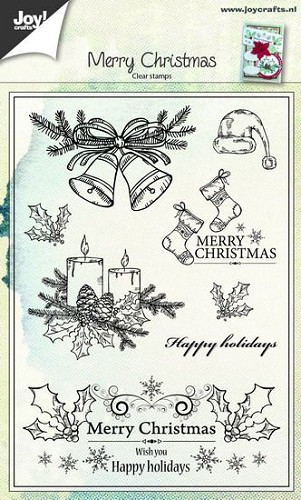 Joy Clearstamps - Merry Christmas