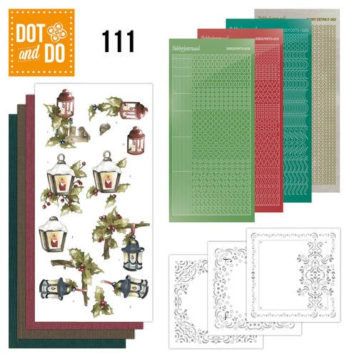 Dot & Do Hobbydots Pakket - The Nature of Christmas