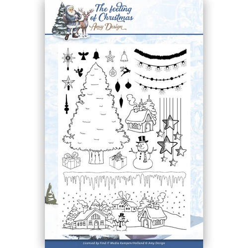 Clearstamps Amy Design - The Feeling of Christmas