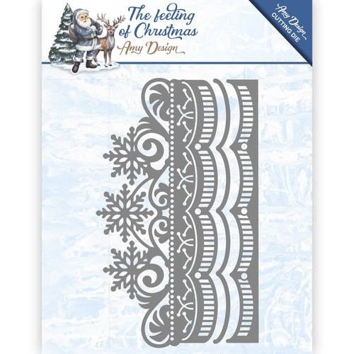 Amy Design Stans - The Feeling of Christmas - Ice Crystal Border