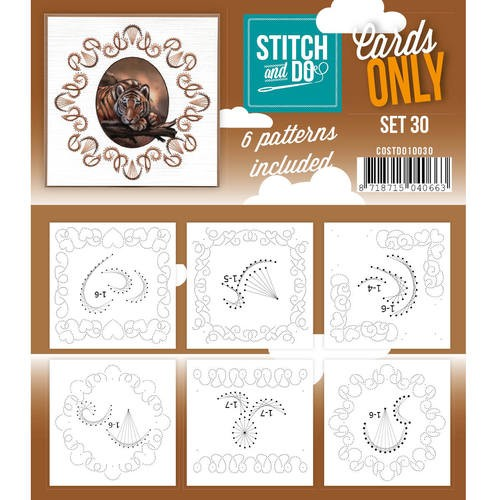 Stitch and Do Cards Only 30