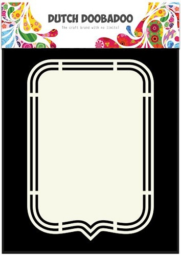 Dutch Doobadoo Stencil - Shape Art - Tag A5